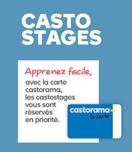 Cours de bricolage chez Castorama