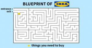 labyrinthe IKEA